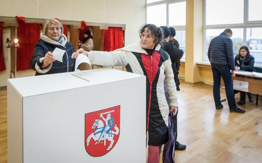 VRK registruos kandidatus į Seimą