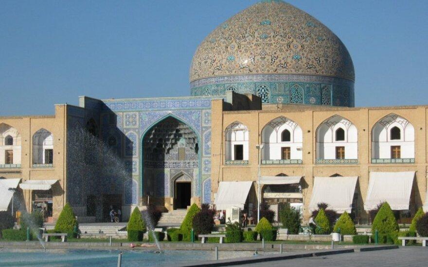 Šeicho Lotfolos mečetė Irane