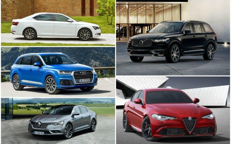 Europos metų automobilio 2016 pretendentai