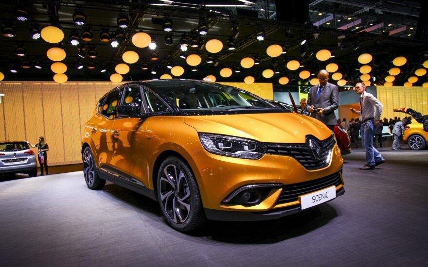"""Pristatytas naujos kartos """"Renault"""", kuriame apstu aukštesnei klasei būdingų technologijų"""