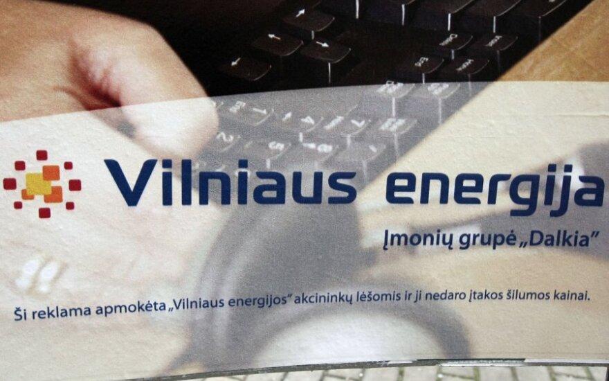 """""""Vilniaus energija"""" neatskleidžia grandiozinės reklaminės kampanijos kainos"""