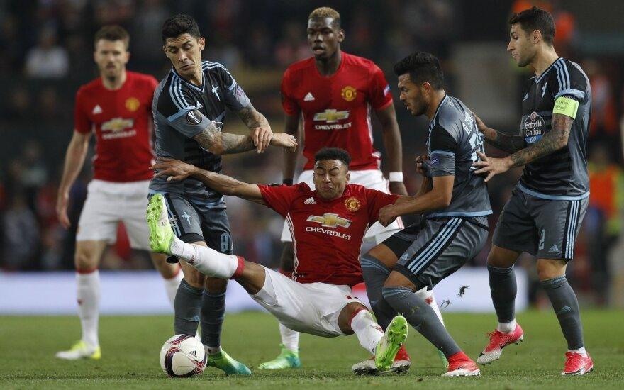 "Europos lygos pusfinalis: ""Manchester United"" – ""Celta"""