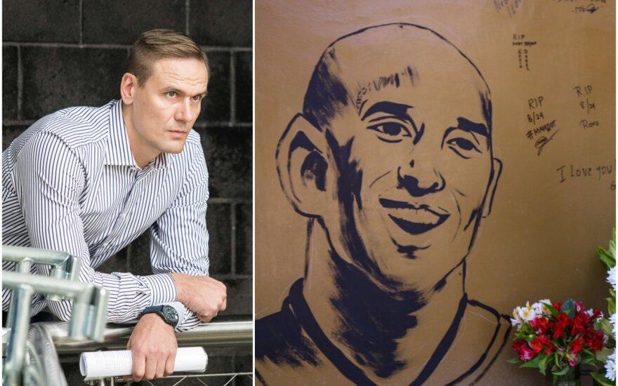 Robertas Javtokas, Kobe Bryanto atvaizdas