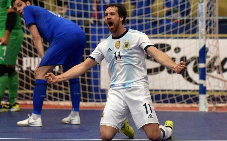 Argentinos salės futbolo rinktinės žaidėjas Alan Brandi