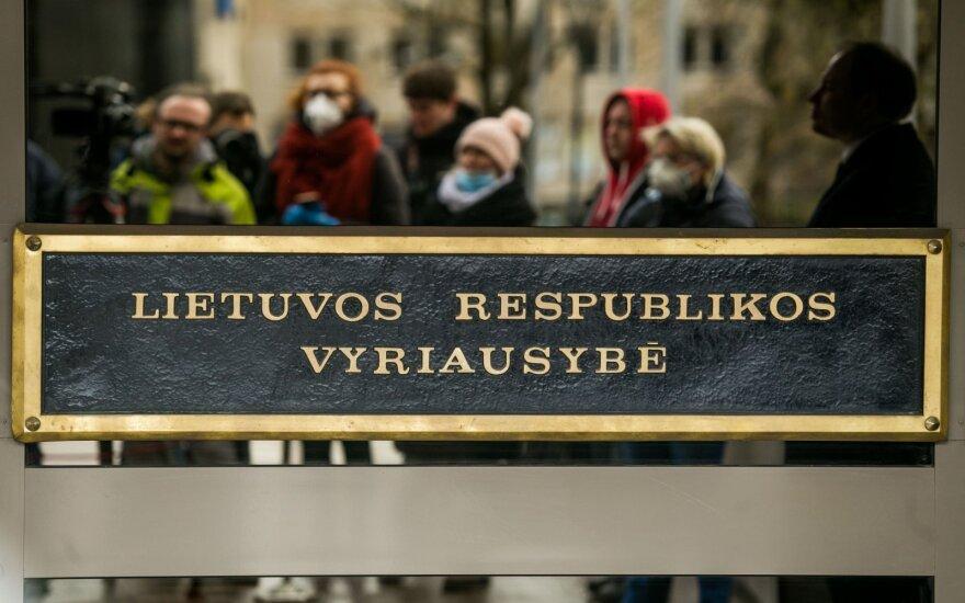 Vyriausybėje – neformalus ministrų pasitarimas dėl koronaviruso situacijos