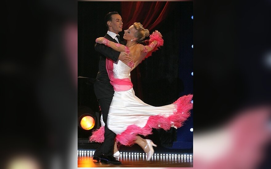 D.Vėželis ir L.Chatkevičiūtė tarptautinėse sportinių šokių varžybose Čekijoje - antri