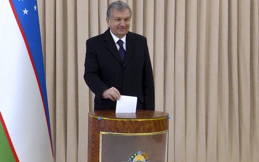 Uzbekistano prezidentas Šavkatas Mirzijajevas