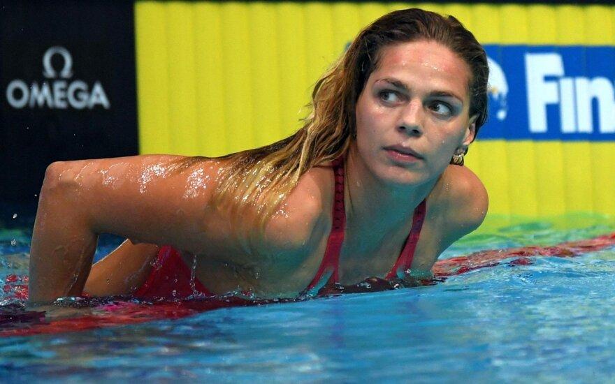 Apie karjeros pabaigą vėl prakalbusi Jefimova gali praleisti pasaulio čempionatą