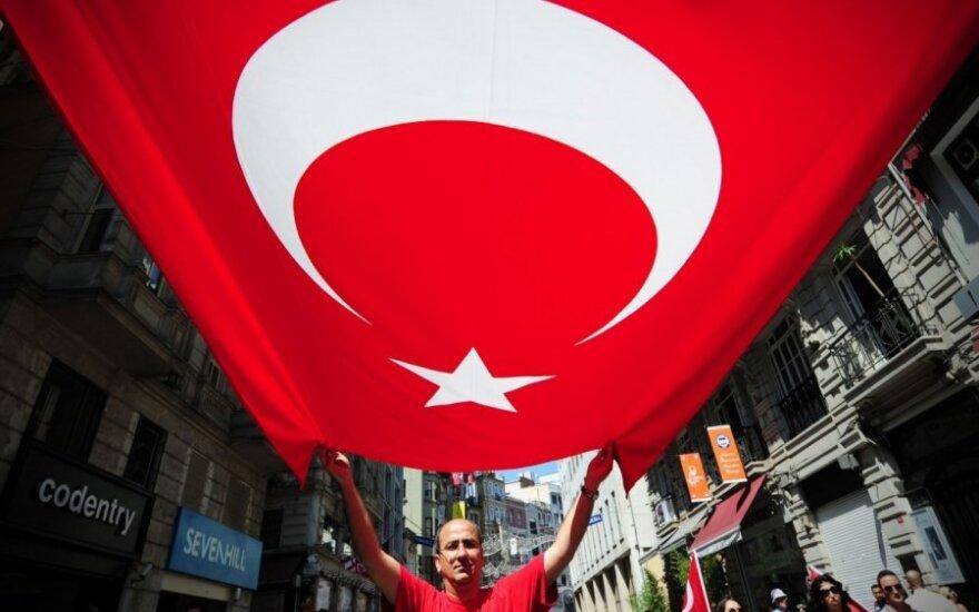 Turkijoje prasidėjo antivyriausybinių protestuotojų teismas