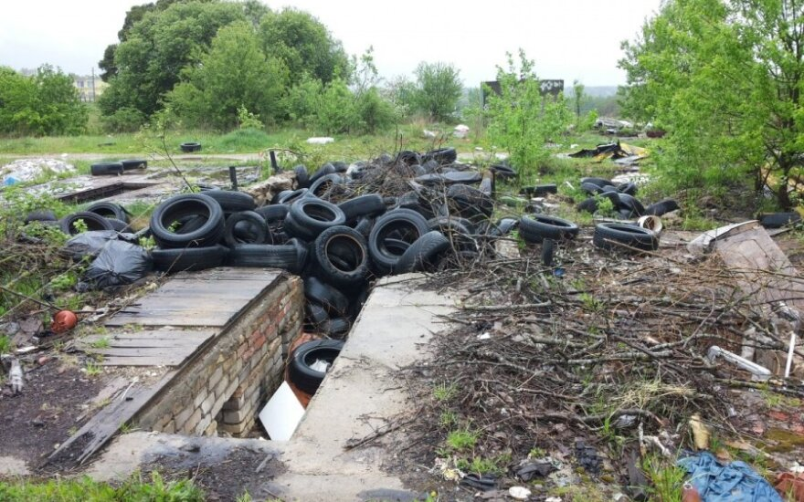 Pavojingų atliekų sąvartynas Pagirių gyvenvietėje
