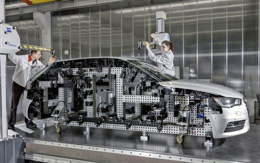 Audi A3 - kūrimo procesas