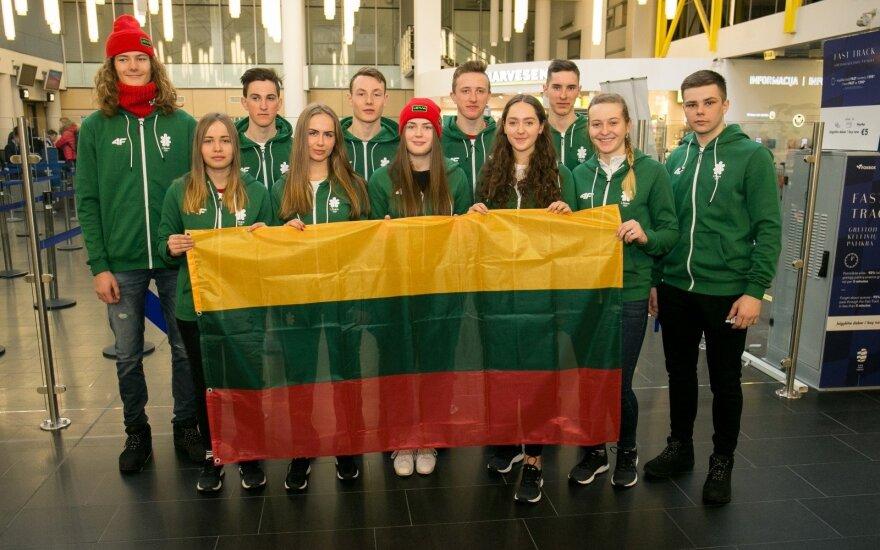 Lietuvos rinktinė išvyksta Europos jaunimo olimpinį žiemos festivalį