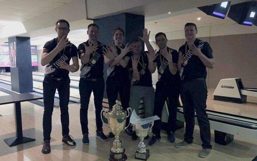 Boulingo komandiniame čempionate – 9-asis kauniečių triumfas iš eilės