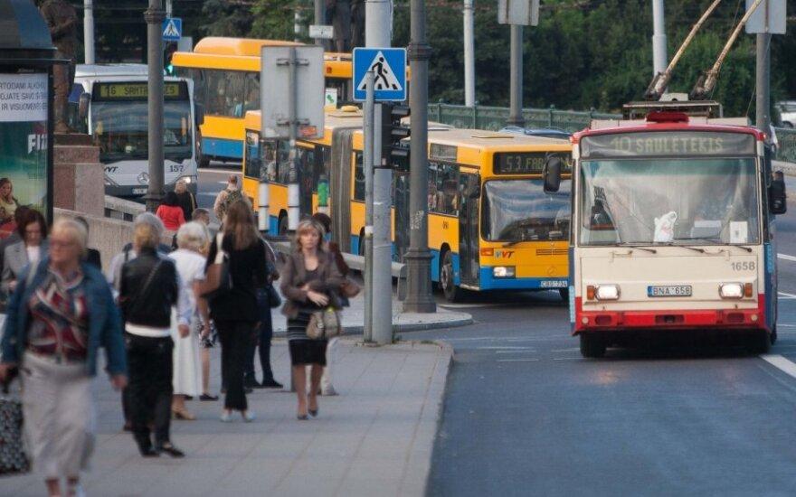 Vilnius public transport drivers threaten with strike