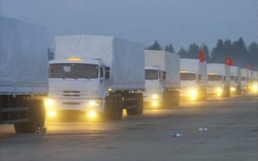 Ukraina apie vilkikus iš Rusijos: neįsileisime