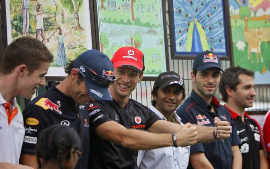 """Formulės-1"" lenktynininkai"