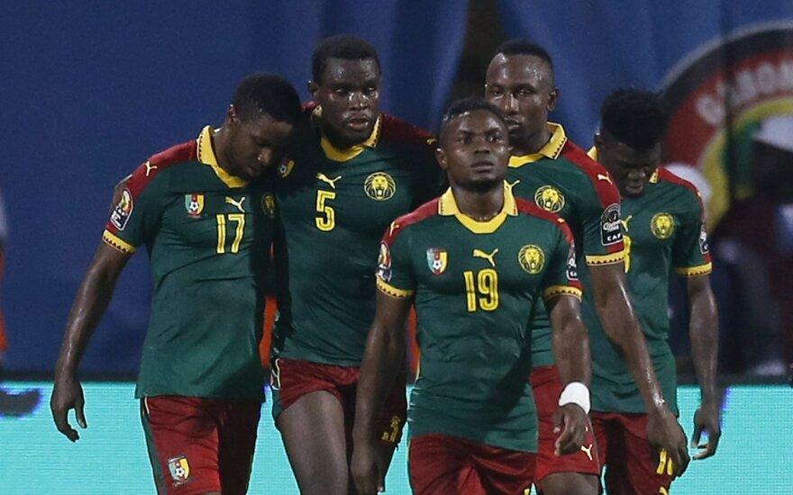 Kamerūno futbolo rinktinė