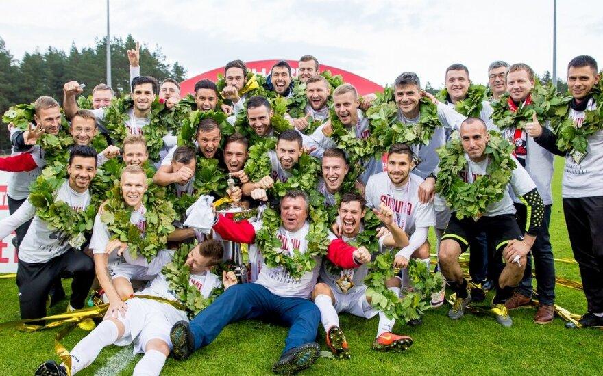 Marijampolės Sūduvos triumfas LFF taurės finale