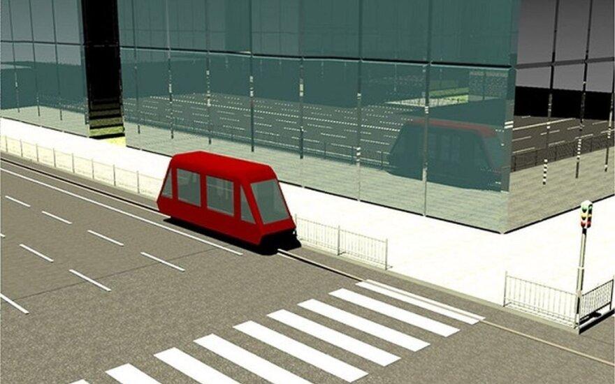 Bresto universiteto mokslininkai siūlo savaeigį transportą