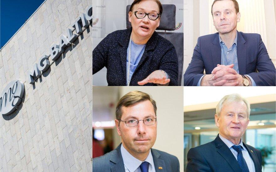 Aušra Maldeikienė, Raimondas Kurlianskis, Gintaras Steponavičius, Kęstutis Glaveckas