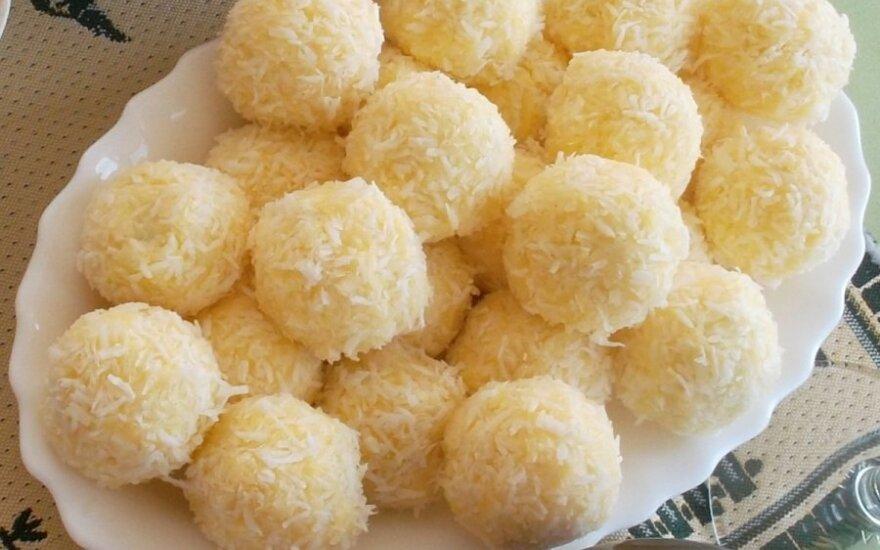 Sūrio kamuoliukai su staigmena