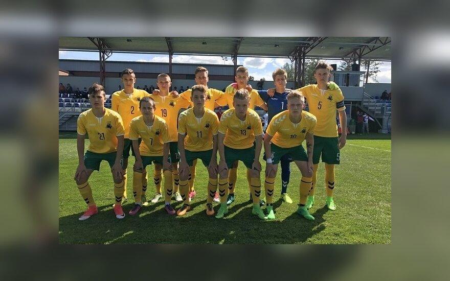 Lietuvos jaunių (U17) futbolo rinktinė