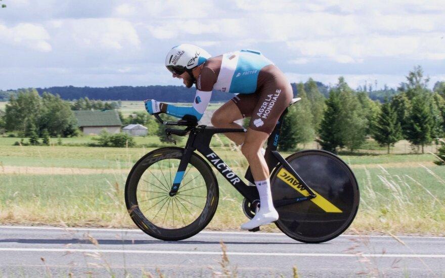 Lietuvos dviračių plento čempionate – Tušlaitės ir Bagdono pergalės
