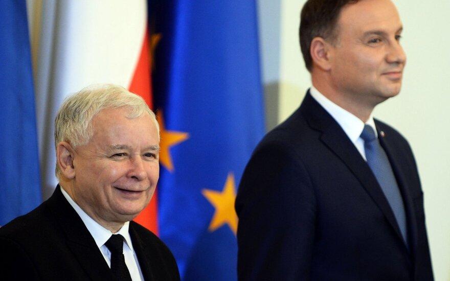 Jaroslaw Kaczynski, Adrzej Duda