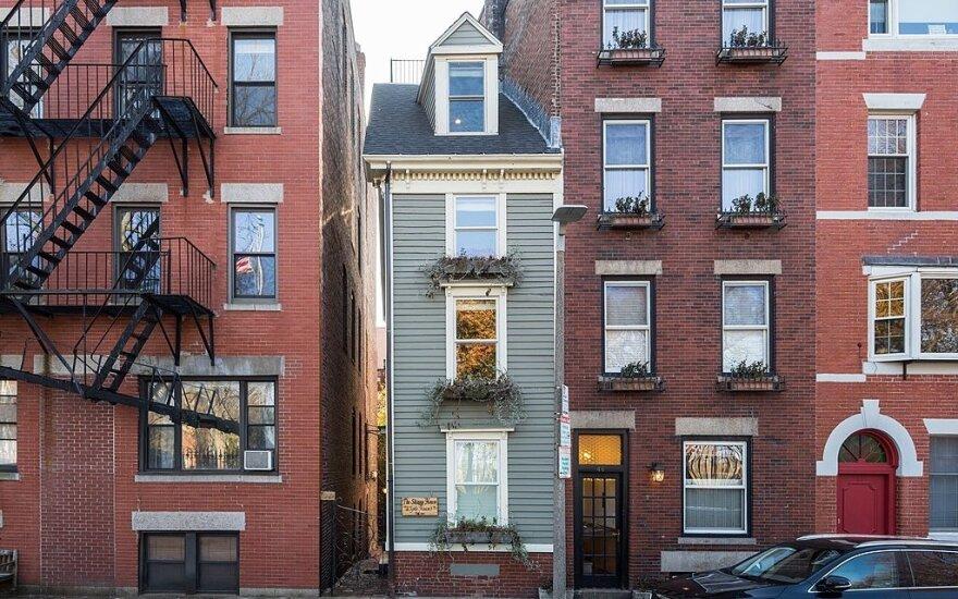 Siauriausias Bostono namas
