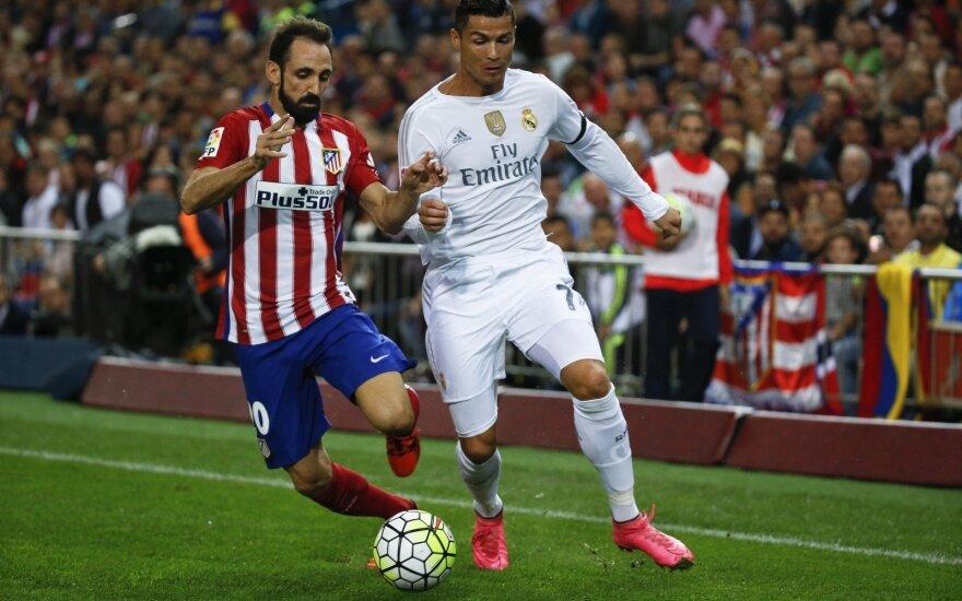 Juanfranas Torresas ir Cristiano Ronaldo