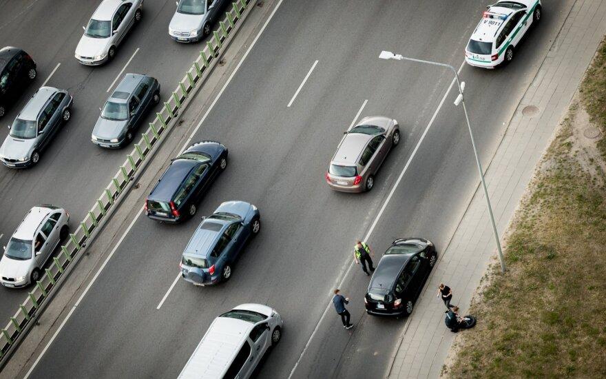 Krėpšta apie automobilių mokestį: gaila, kad nėra tiesioginių sąsajų su tarša