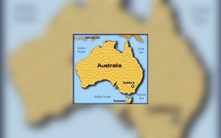 Australijos žemėlapis