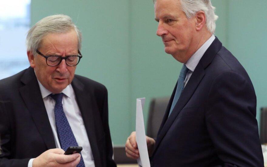 Jeanas Claude'as Junckeris,  Michelis Barnier