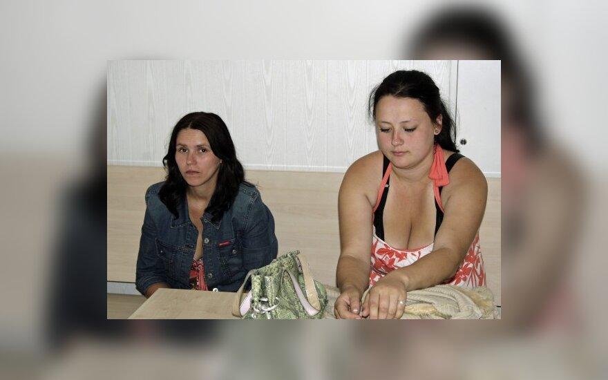 Ana Malevska (kairėje) ir Alina Jakubickaitė