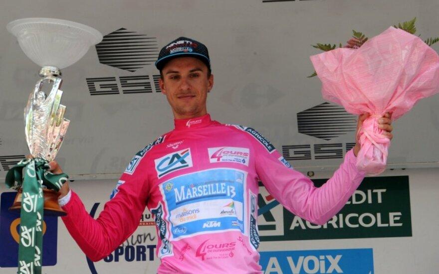 Ignatas Konovalovas laimėjo lenktynes Prancūzijoje