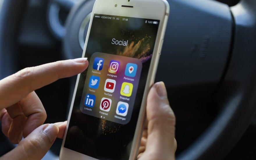 Socialiniais tinklais naudojasi 99 proc. Z kartos atstovų