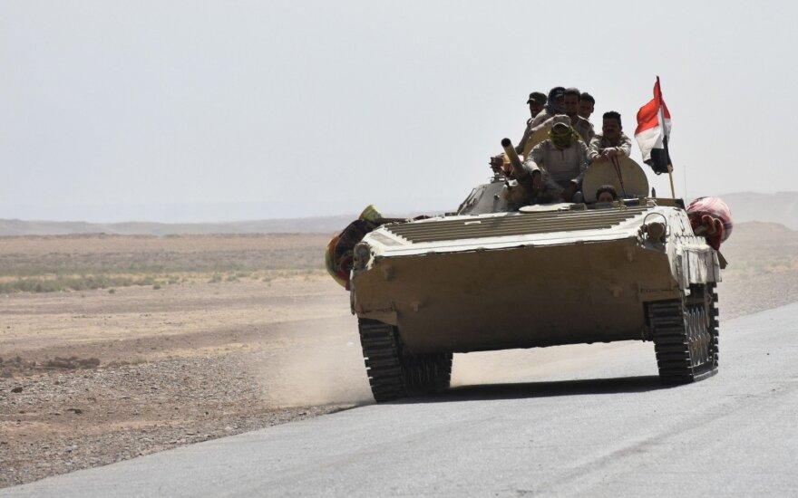 Irako kariuomenė pradėjo operaciją ginčijamoms Kirkuko teritorijoms atsiimti