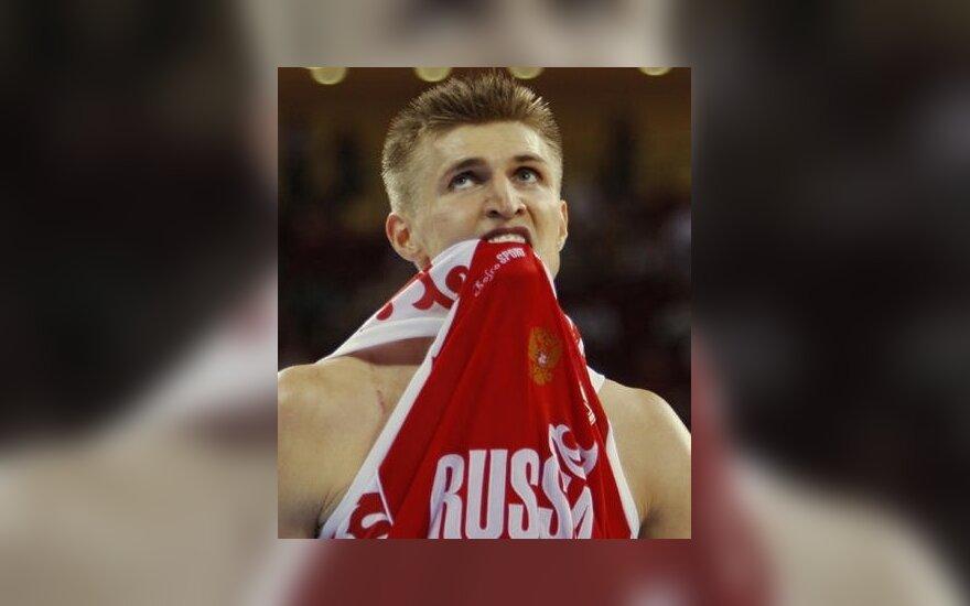 Andrejus Kirilenka neslėpė apmaudo