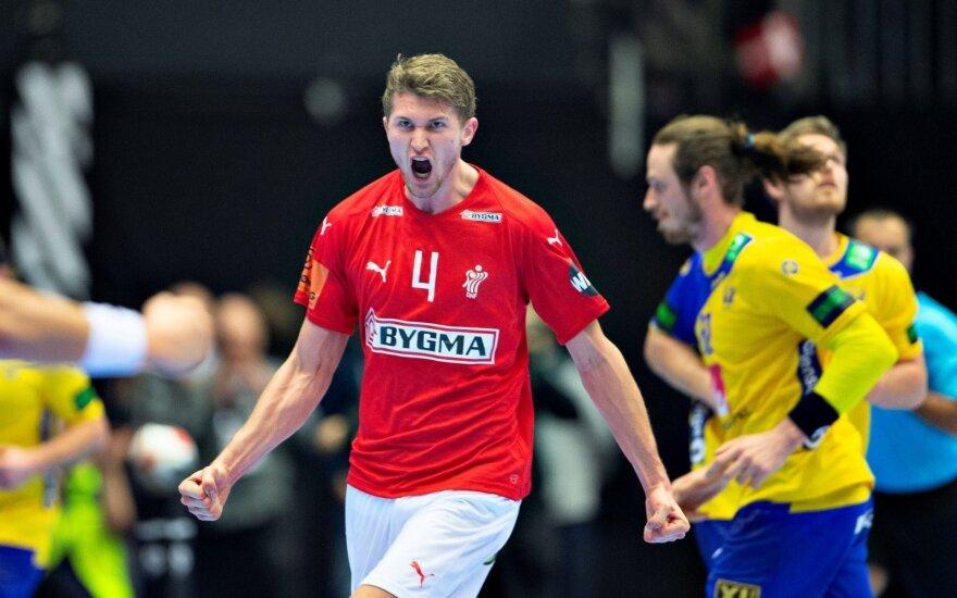 Danijos rankinio čempionatas, Danijos ir Švedijos akistata