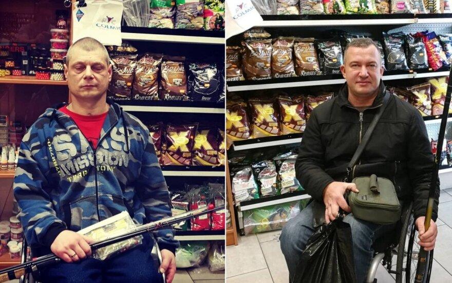 Žvejai džiaugiasi naujais įrankiais