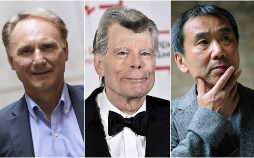 Danas Brownas, Stephenas Kingas, Haruki Murakami