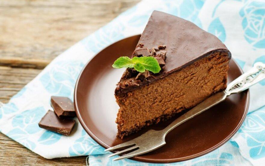 Šokoladinis sūrio tortas