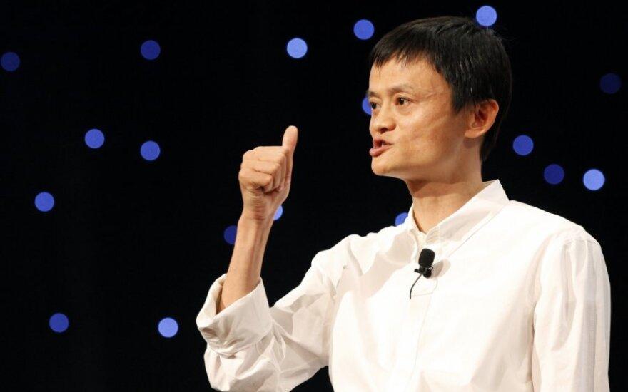 """""""Alibaba Group"""" vadovas Jackas Ma"""