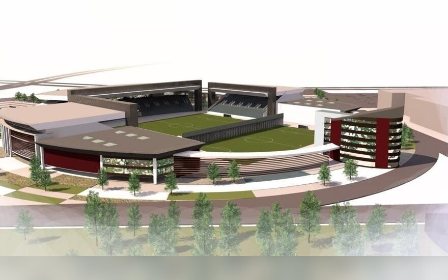 Šalia nacionalinio stadiono galės iškilti ir daugiabučiai