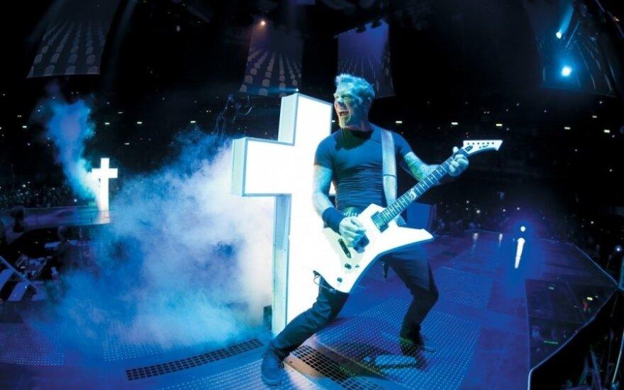 """3D koncertаs """"Metallica: įveikę prarają"""""""