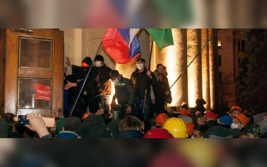 Ukraina: Nikolajeve prasidėjo susirėmimai, yra sužeistųjų