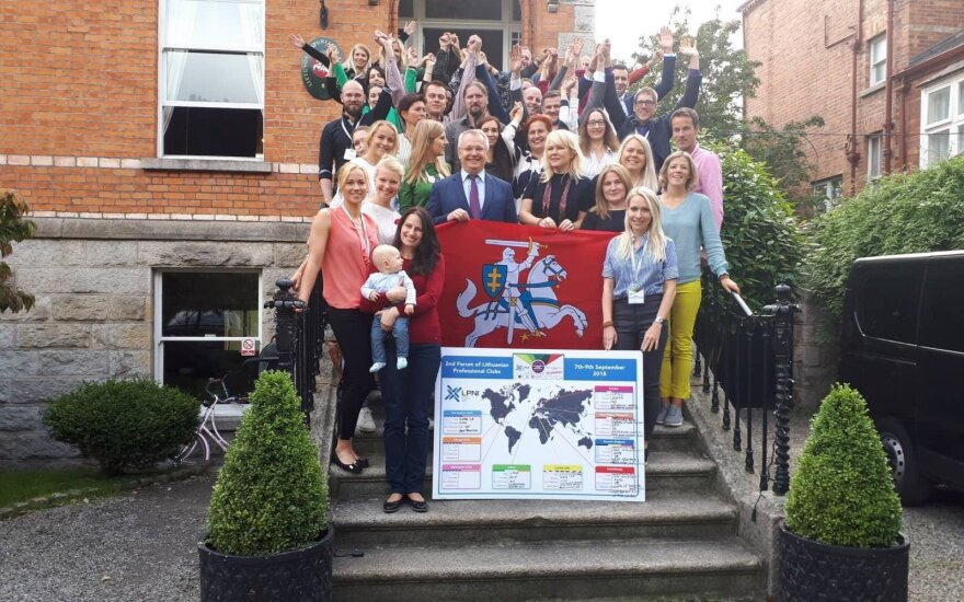 Lietuvių profesionalų klubai susitiko Dubline