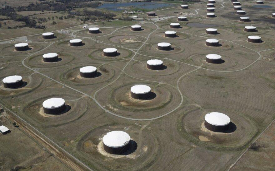 Sumažėjus JAV naftos atsargoms didėjo kainos