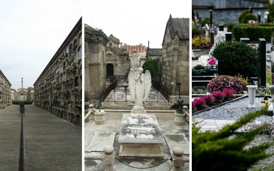 Palygino lietuviškas kapines su esančiomis užsienyje: skirtumai nedžiugina