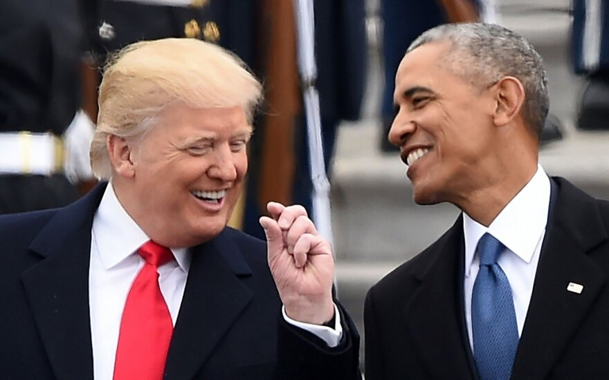 Donaldas Trumpas, Barackas Obama